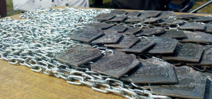 Medale ODLEWANE, galwanizowane, wypełniane kolorem, edycje kolekcjonerskie